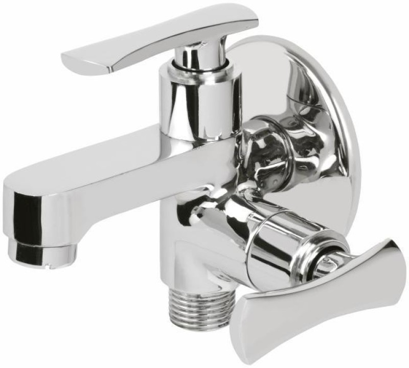 Vviya Bib Tap for Bathroom & Kitchen with Foam Flow Angle Cock Faucet(Wall Mount Installation Type)