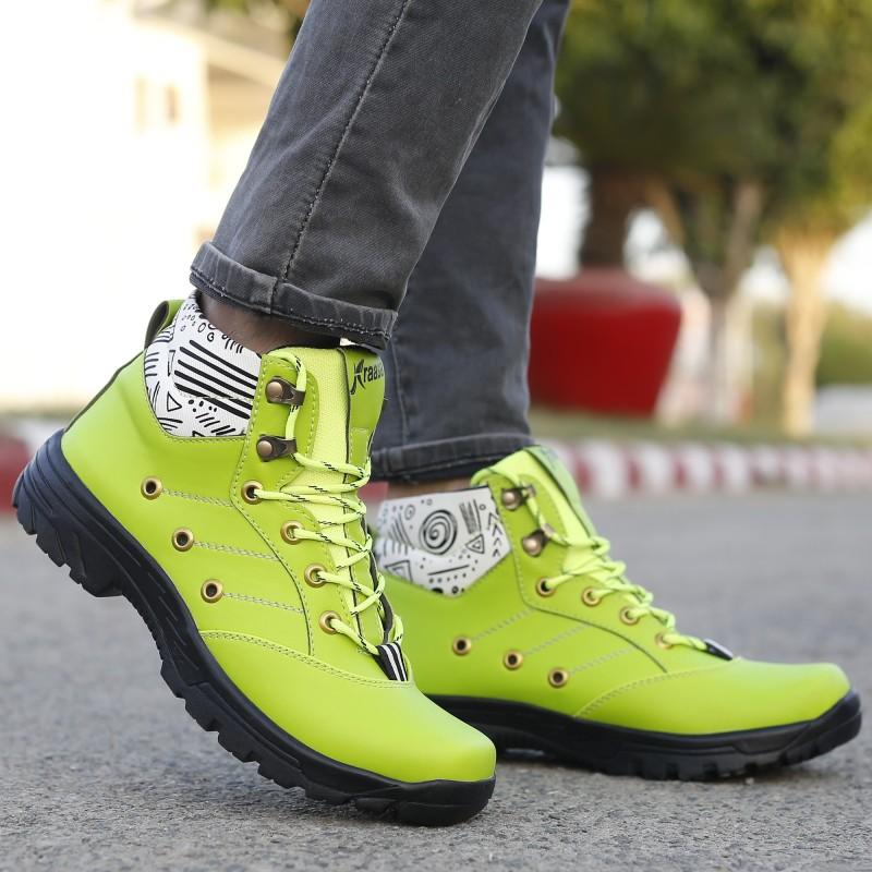 Kraasa r-01 Boots For Men(Green)