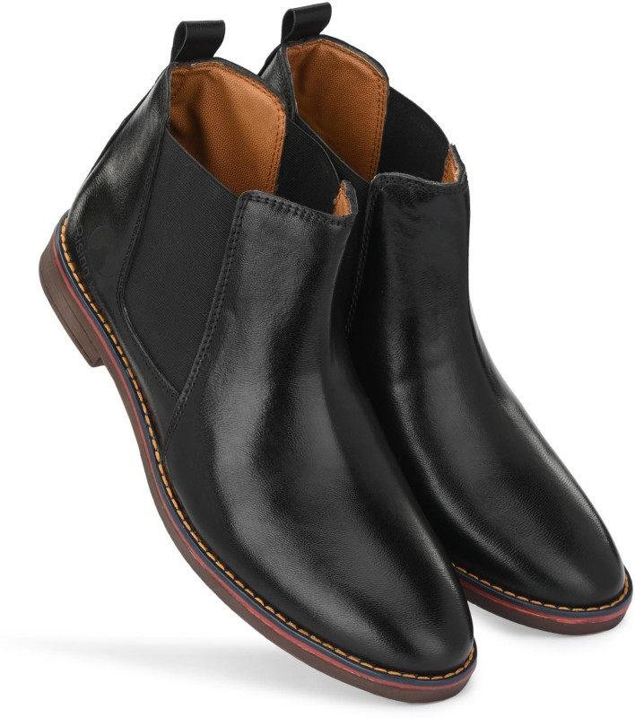 Rising Wolf EXCLUSIVE BOOTS Boots For Men(Black)