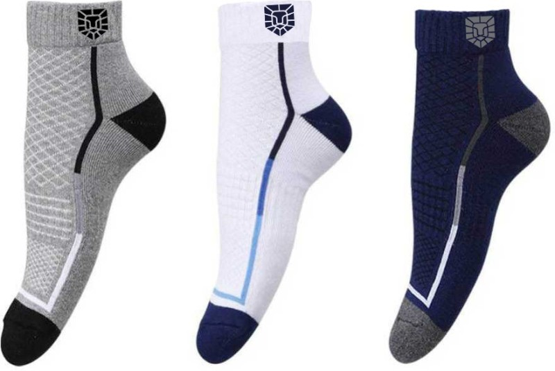 Vamear Exclusive Men & Women Printed Ankle Length(Pack of 3)