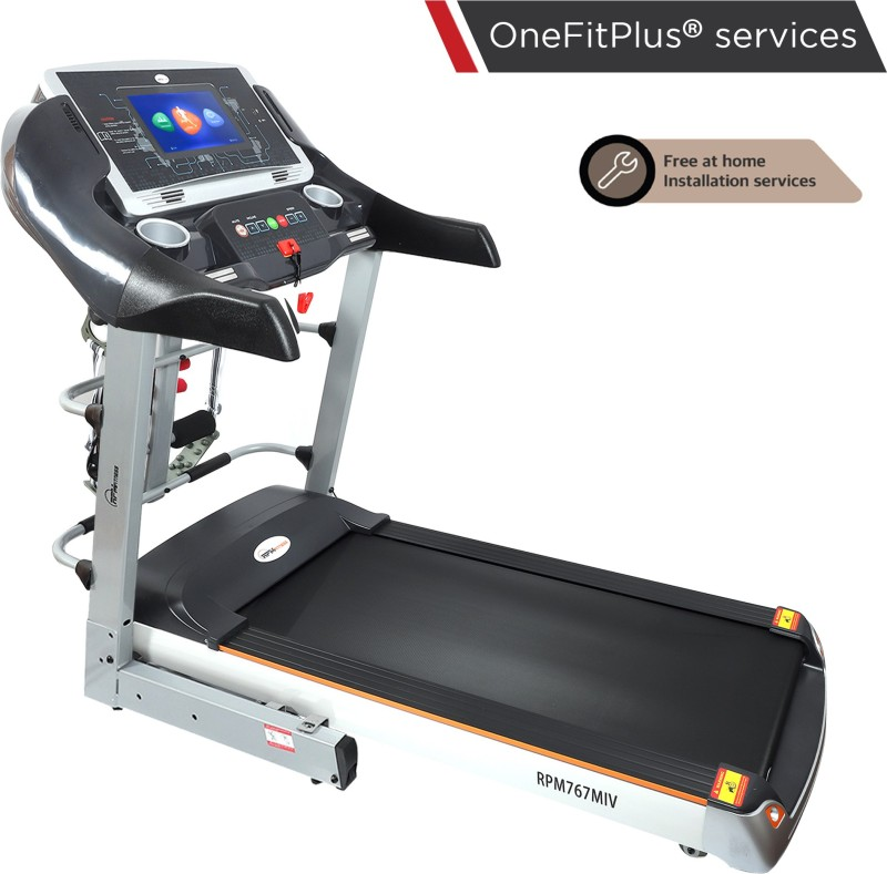 RPM Fitness RPM767MIV 5 HP Peak Power with Free installation,TV Touch Screen, Auto-Inclination Treadmill