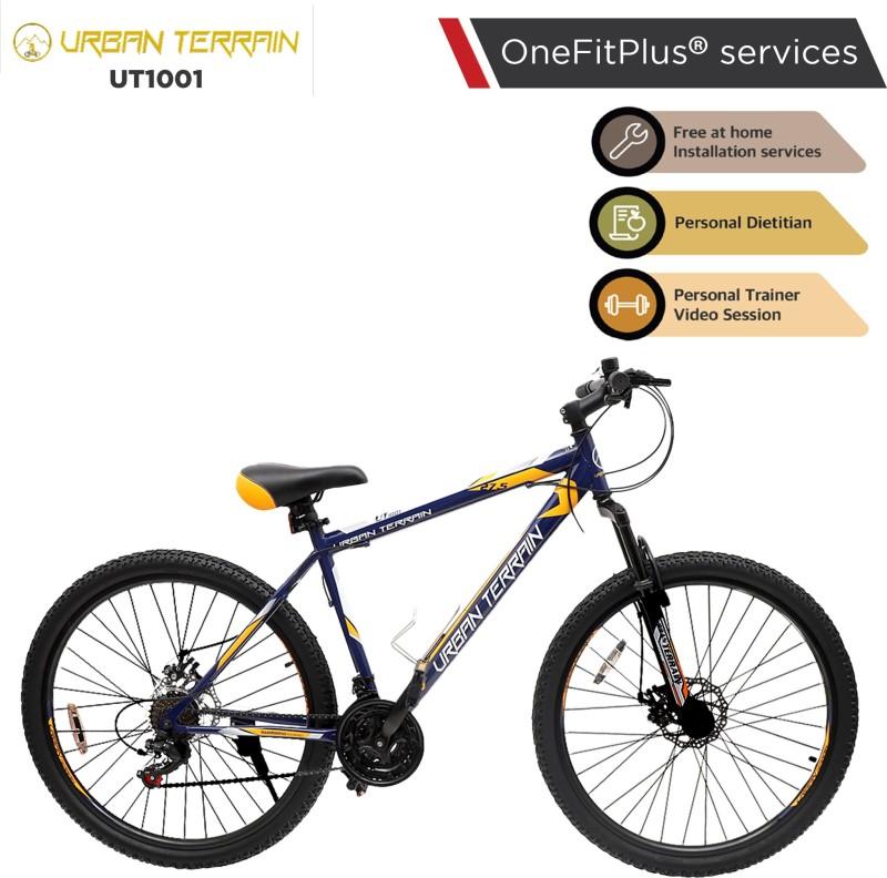 Urban Terrain UT1001 MTB 27.5 T Mountain Cycle(21 Gear, Blue)