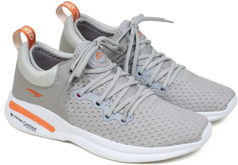 ASIAN Creta-12 sports shoes for men | Latest Stylish Casual sport shoes for men | running shoes for boys | Lace up Lightweight grey shoes for running, walking, gym, trekking, hiking & party Running Shoes For Men(Grey)