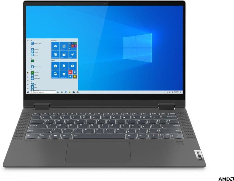 Lenovo IdeaPad Flex 5 Ryzen 5 Hexa Core 5500U - (8 GB/512 GB SSD/Windows 10 Home) 14 ALC 05 2 in 1 Laptop(14 inch, Graphite Grey, 1.5 Kg, With MS Office)