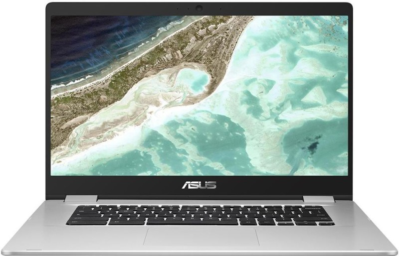 ASUS Chromebook Celeron Dual Core - (4 GB/64 GB EMMC Storage/Chrome OS) C523NA-A20303 Thin and Light Laptop(15.6 inch, Silver, 1.69 Kg)