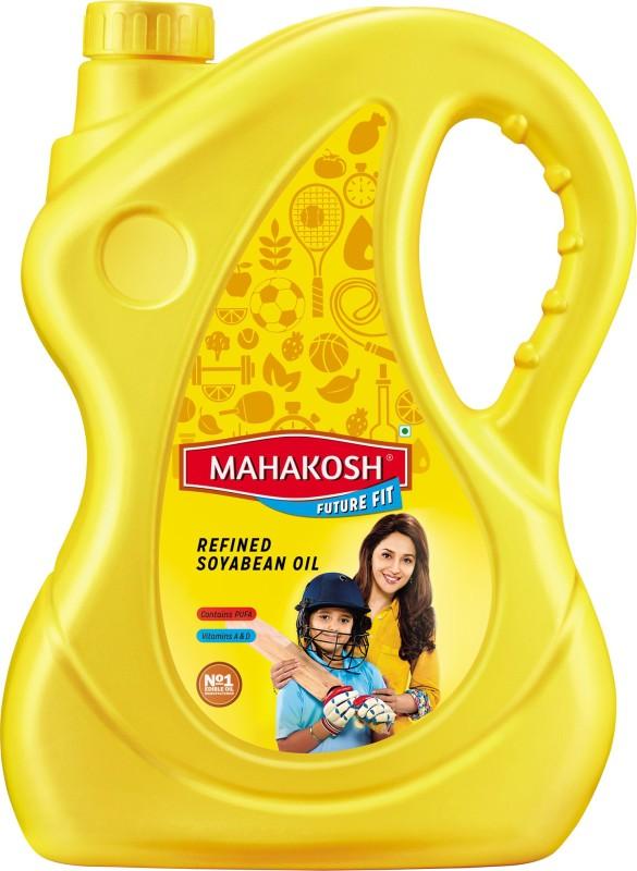 Mahakosh Refined Soyabean Oil Can(5 L)