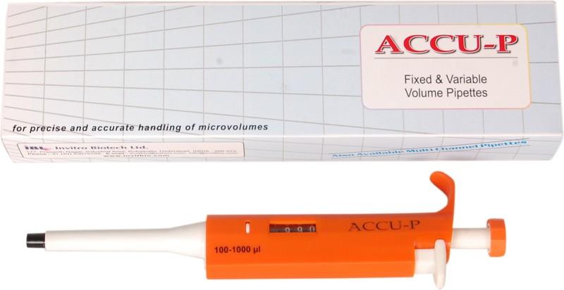 Accu-P Micro Laboratory Pipette(1000 microliter)