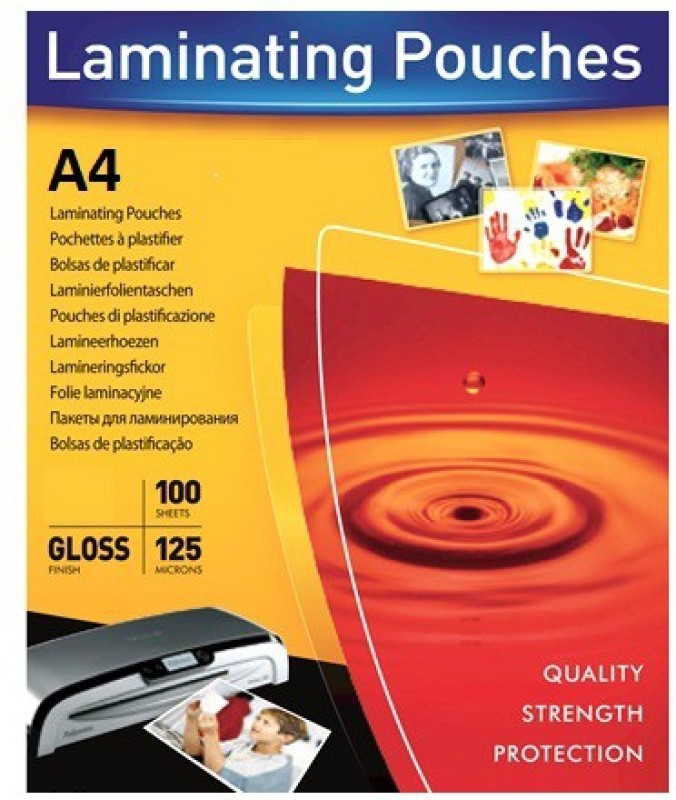 HE Retail Supplies A4 Laminating Sheet(0.08 mil Pack of 100)
