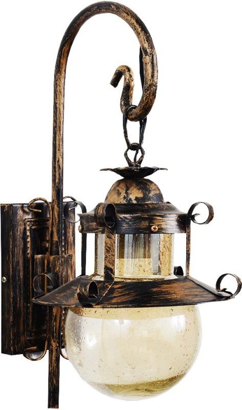 VZACK VL 361/1 WL Wall Lights Lamp Shade(Aluminium, Glass)