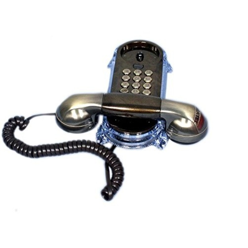 Swarish Oriental KX T-777 Antique Telephone Corded Landline Phone(Bronze)