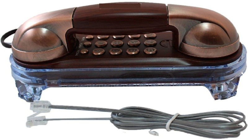 Swarish KX-T777 Telephone(Copper) Corded Landline Phone(Multicolor)