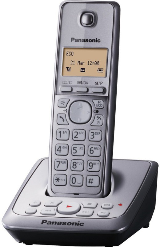 Panasonic KX-TG2721BX Cordless Landline Phone(Silver)
