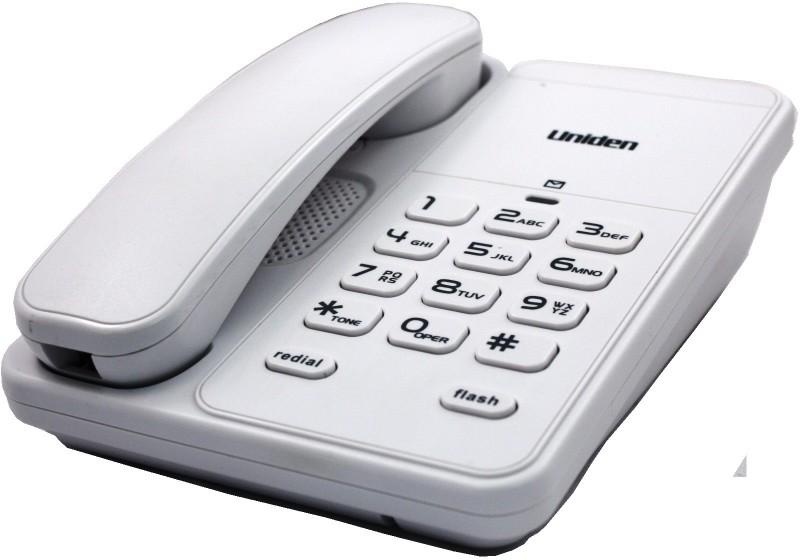 Uniden AS7202 Corded Landline Phone(White)