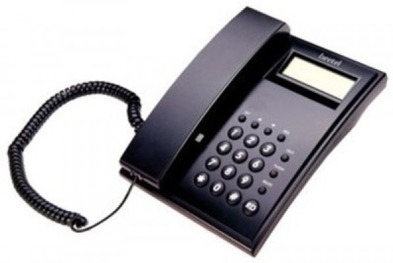 BEETEL C 51 Corded Landline Phone(Black)