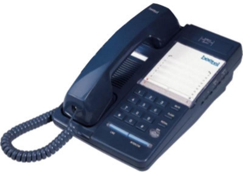 Beetel B11 Corded Landline Phone(Blue)