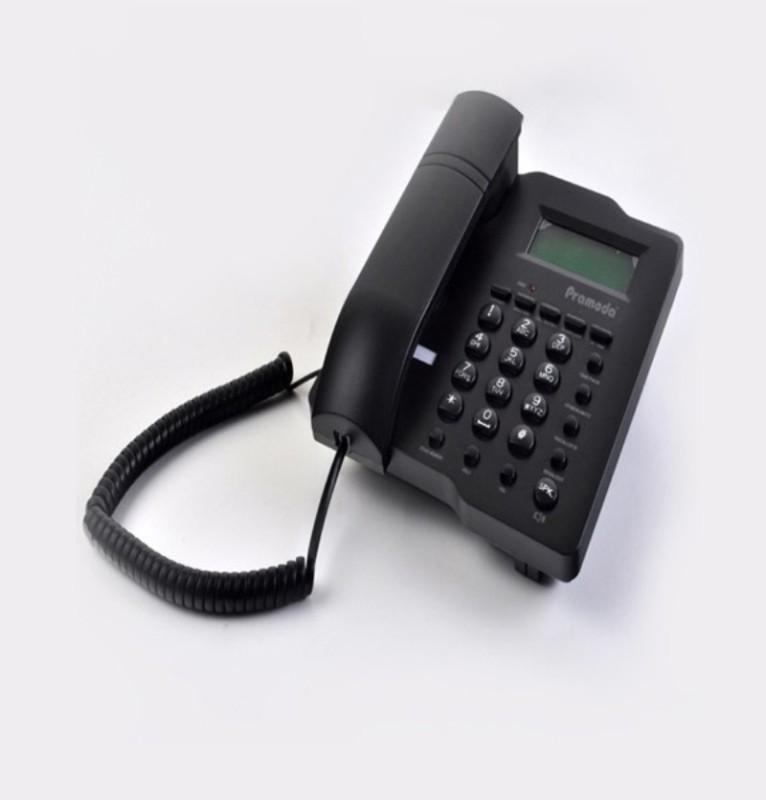 Pramoda PT88 Corded Landline Phone(Black)