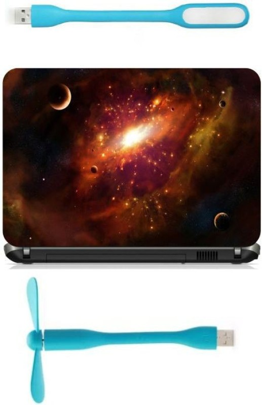 Print Shapes space and galaxies wide Combo Set(Multicolor)