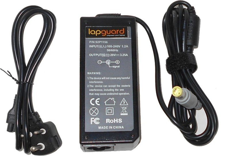 Lapguard Lenovo 42T5283_65 65 W Adapter(Power Cord Included)