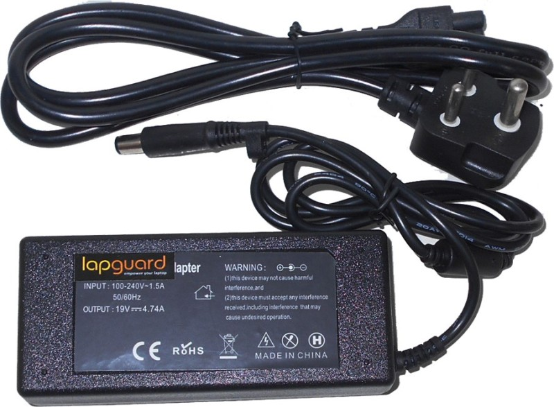 Lapguard Hp Pavilion G6-2046EX G6-2050EC 90 W Adapter(Power Cord Included)