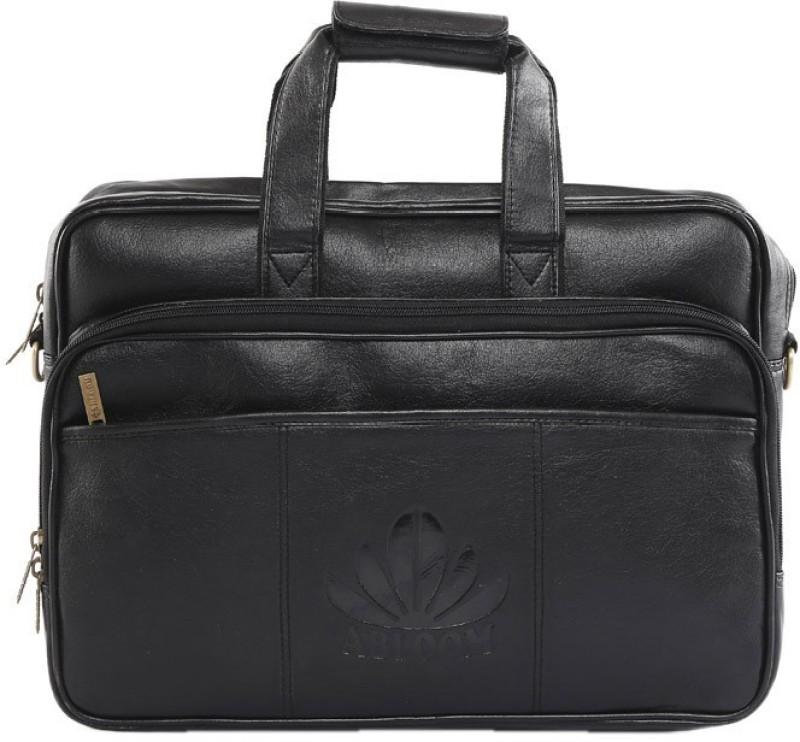 ABLOOM 16 inch Laptop Messenger Bag(Black)