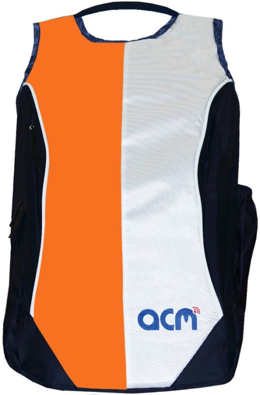 ACM 14 inch Expandable Laptop Backpack(Orange)