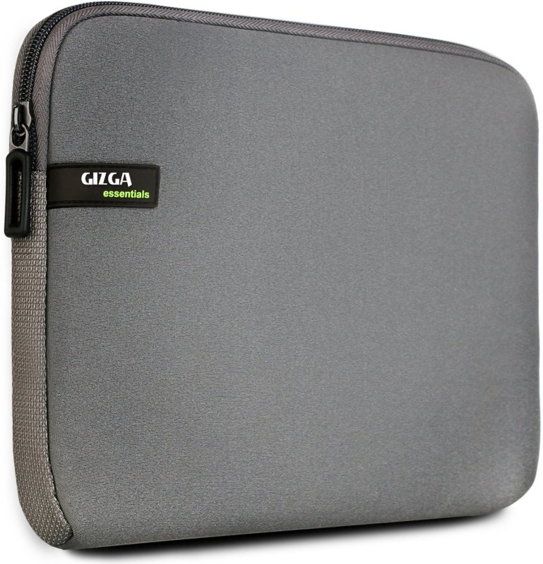 Gizga Essentials GE-15-GRY-GRY Laptop Sleeve/Cover(Grey, 1)