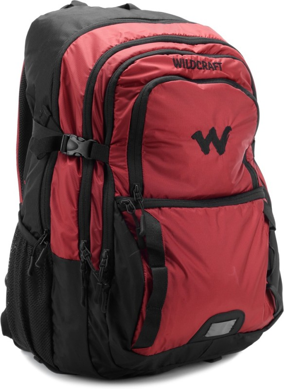Wildcraft 14 inch Laptop Backpack(Red, Black) ida red