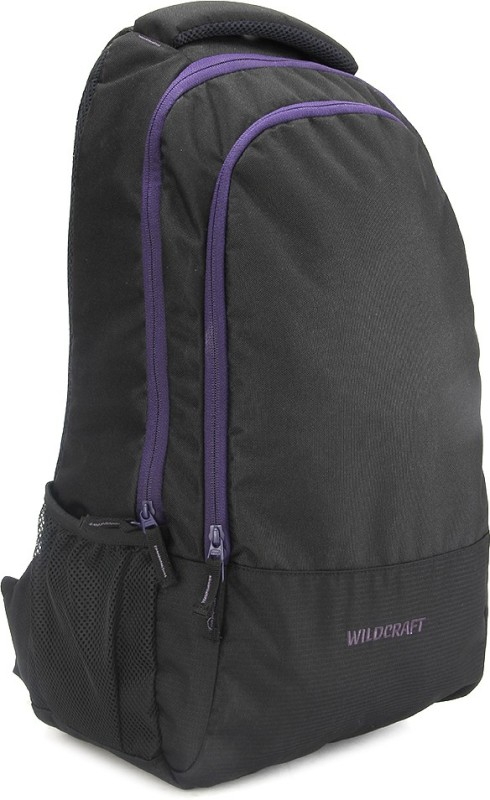 Wildcraft 17 inch Laptop Backpack(Black) Guide Black