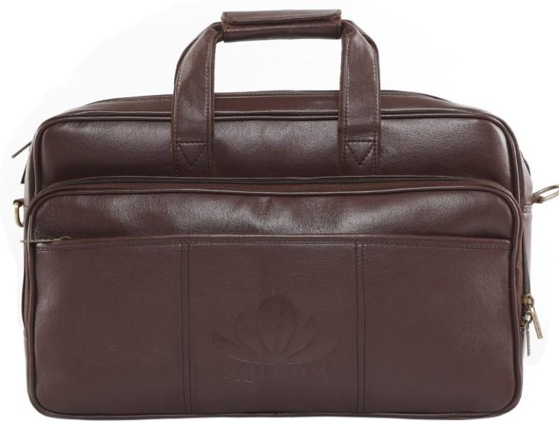 ABLOOM 16 inch Laptop Messenger Bag(Brown)