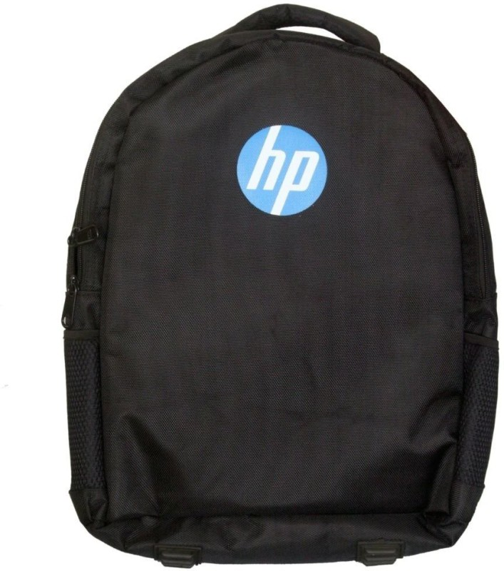 HP Bags Waterproof School Bag(Black, 15 inch) HP Bags 386 Black