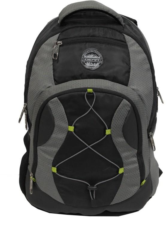 Gear 16 inch Laptop Backpack(Black, Grey, Green)