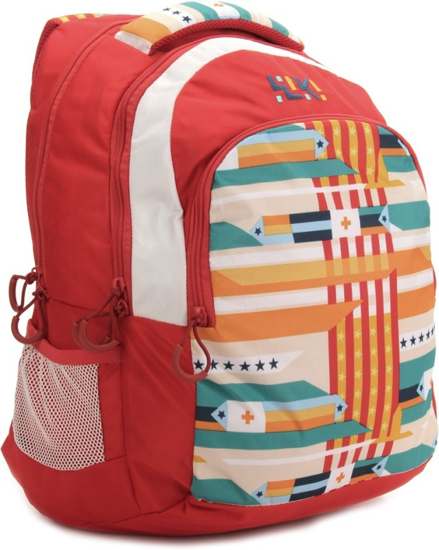 Wildcraft Laptop Backpack(Red, White) Twist