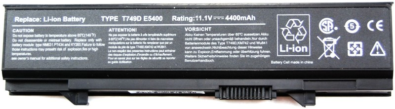 Lapguard Dell Latitude E5510 6 Cell Laptop Battery