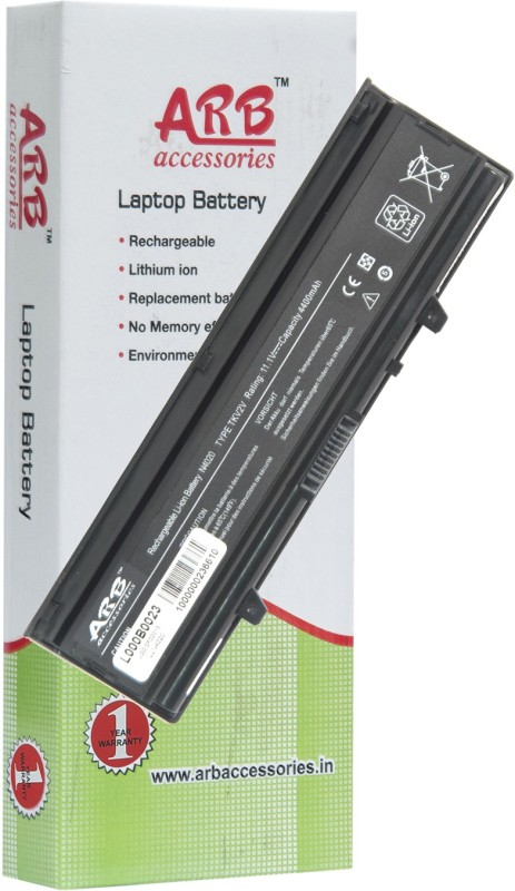 ARB Dell X3X3X 6 Cell Laptop Battery