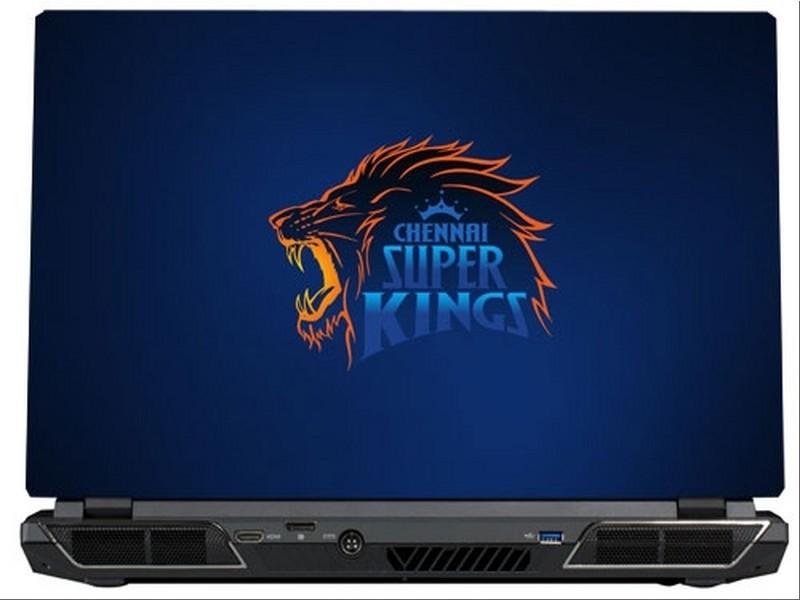 SkinShack Chennai Super Kings (10.1 inch) Vinyl Laptop Decal 10.1