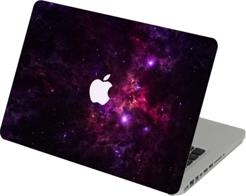 Swagsutra Swagsutra PInk Galaxy Laptop Skin/Decal For MacBook Air 13 Vinyl Laptop Decal 13