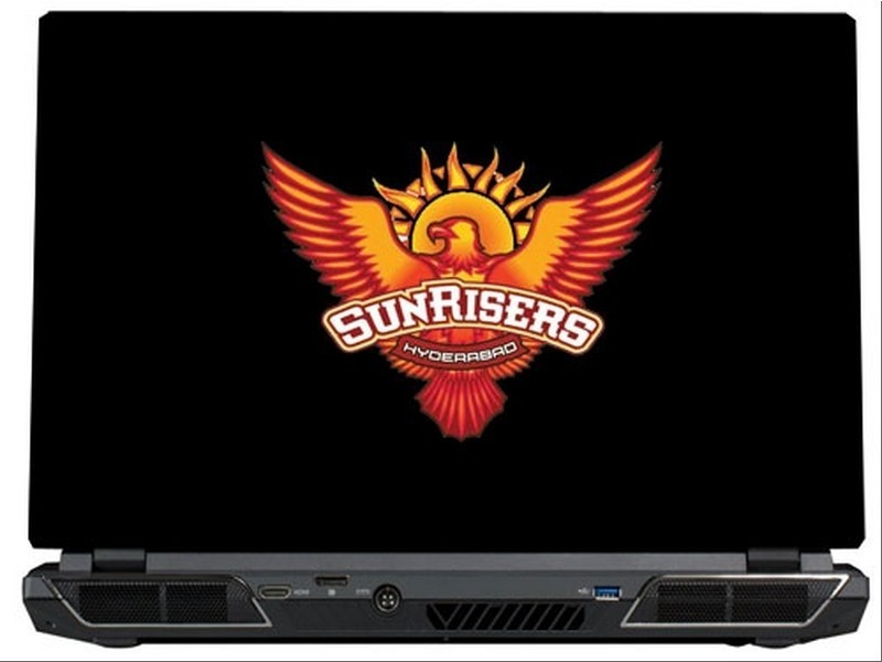SkinShack Sunrisers Hyderabad (10.1 inch) Vinyl Laptop Decal 10.1