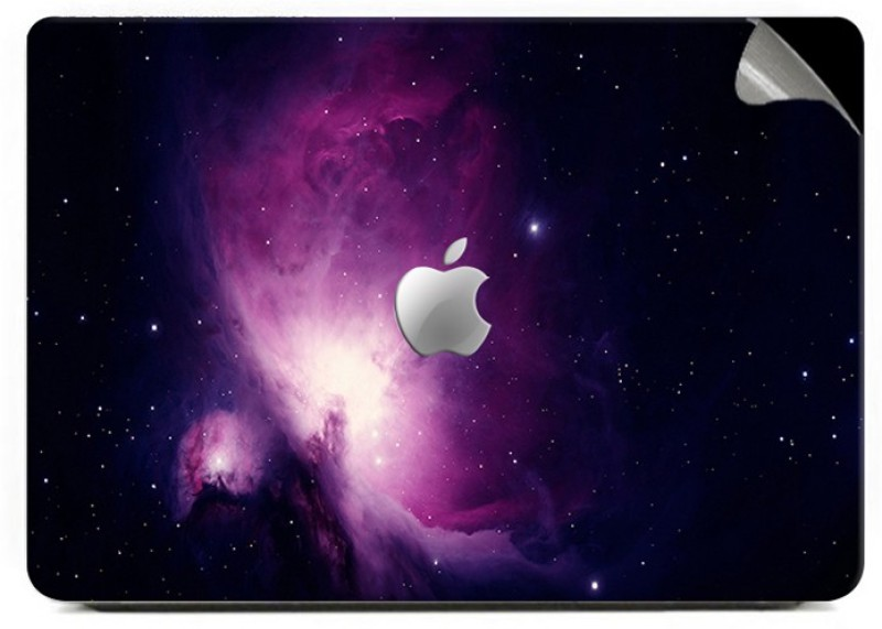 Swagsutra Purple Galaxy Vinyl Laptop Decal 15