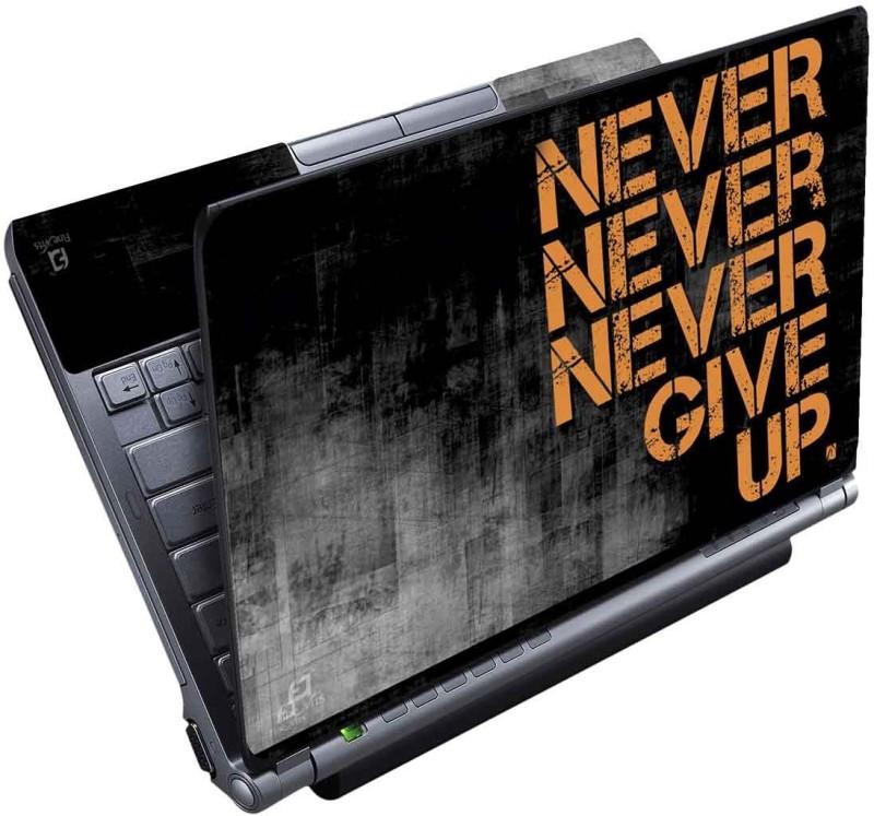 FineArts Never Full Panel Vinyl Laptop Decal 15.6