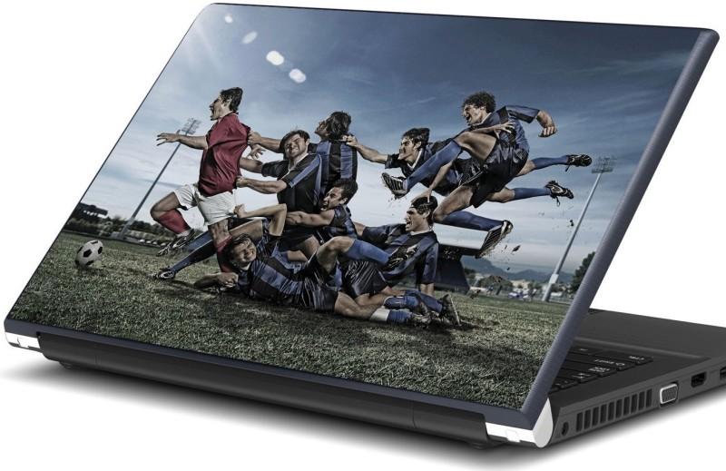 Artifa Football players playing Vinyl Laptop Decal 15.6