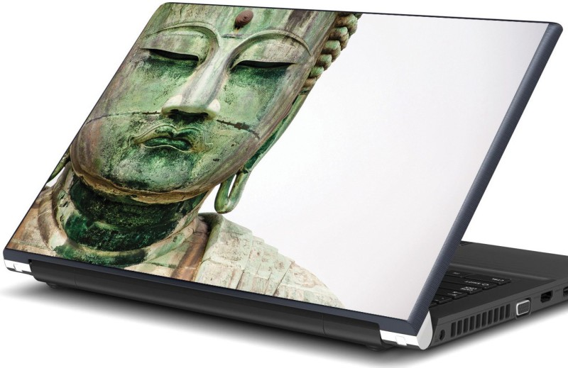 Artifa Cemented Buddha statue Vinyl Laptop Decal 15.6