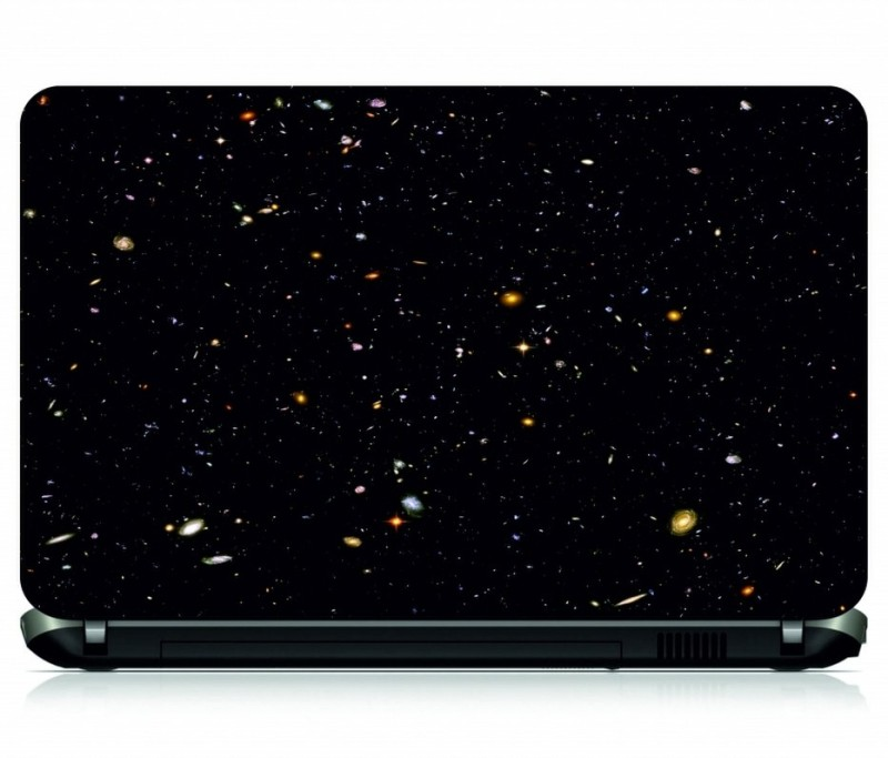 Box 18 Galaxy Vinyl Laptop Decal 15.6