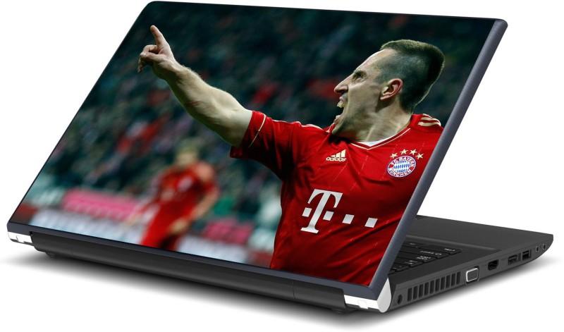 Artifa Franck Ribery Inspired Football Vinyl Laptop Decal 15.6