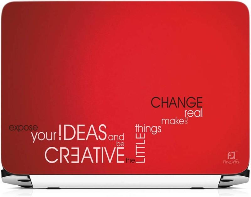 FineArts Creative Ideas Vinyl Laptop Decal 15.6