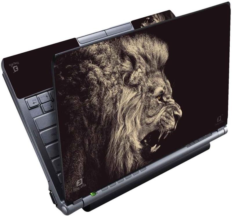 FineArts Lion Roar Full Panel Vinyl Laptop Decal 15.6