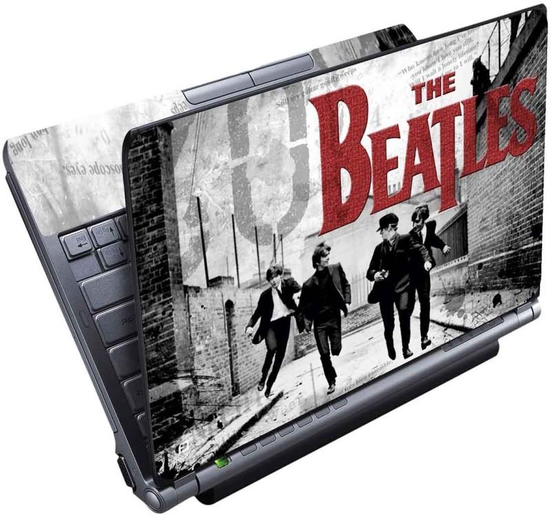FineArts The Beatles B & W Full Panel Vinyl Laptop Decal 15.6