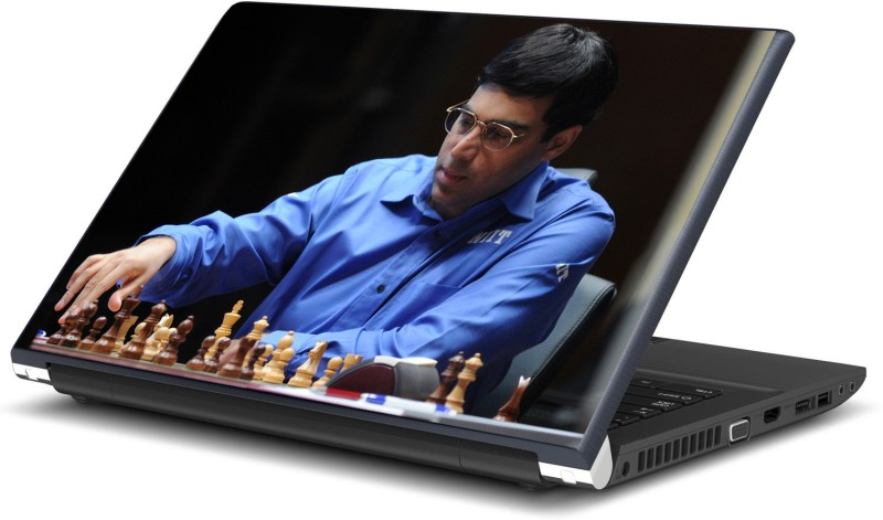 Artifa Viswanathan Anand Chess Vinyl Laptop Decal 15.6