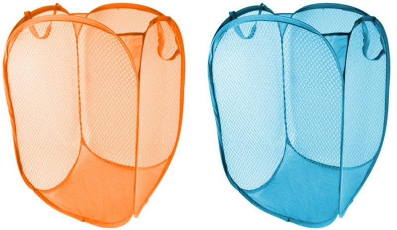 Lavelle Kitchen 15 L Blue, Orange Laundry Bag(Net)
