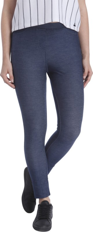 Vero Moda Women's Blue Jeggings