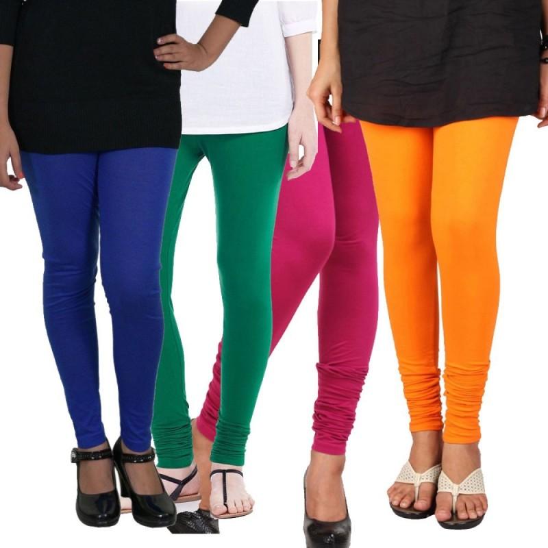 Elegant Legging(Multicolor, Solid)